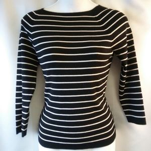 Ann Taylor Lightweight Knit Sailing Sweater, S